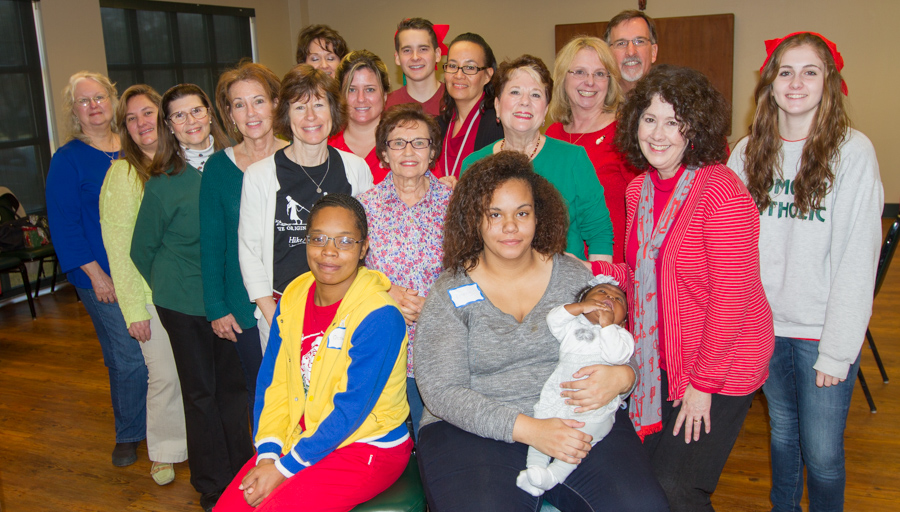 GEMS Moms, Coaches and Gabriel Angels gather for Christmas party